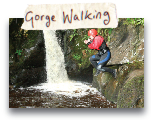 Gorge Walking - North Wales