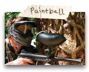 Paintballing - North Wales